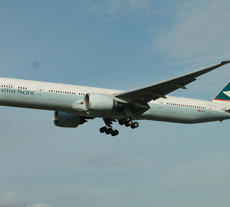 REVIEW:  Cathay Pacific First Class Hong Kong - Chicago
