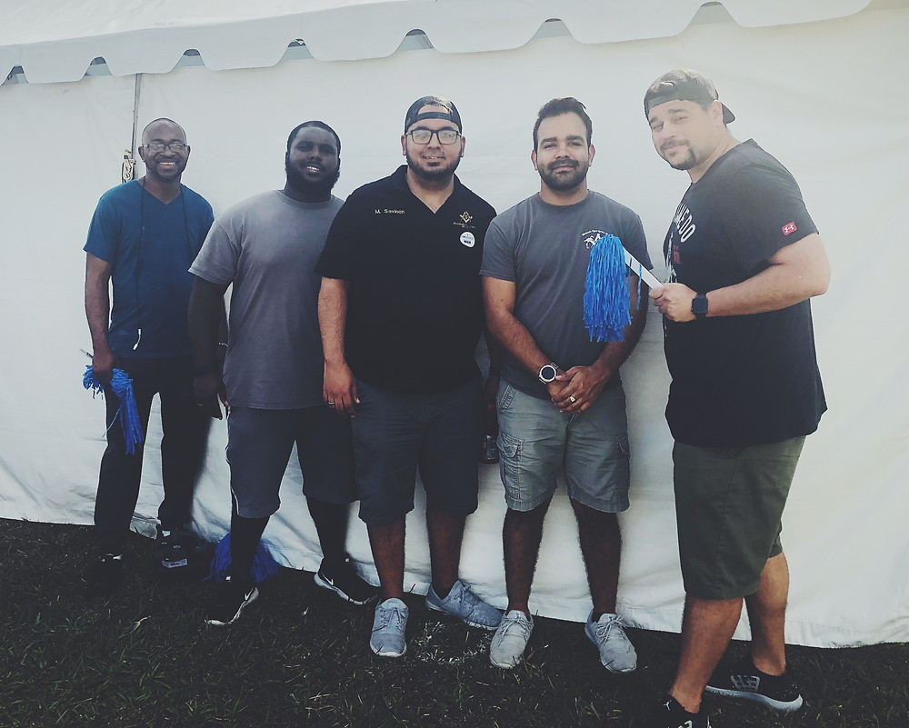 The Brothers at the 2019 Autism Speaks Miami Walk