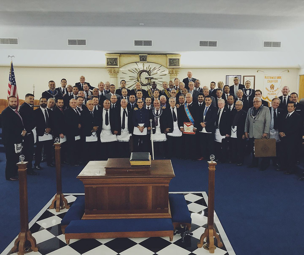Grand Masters of FL & Cuba visit Renacer Lodge No. 410