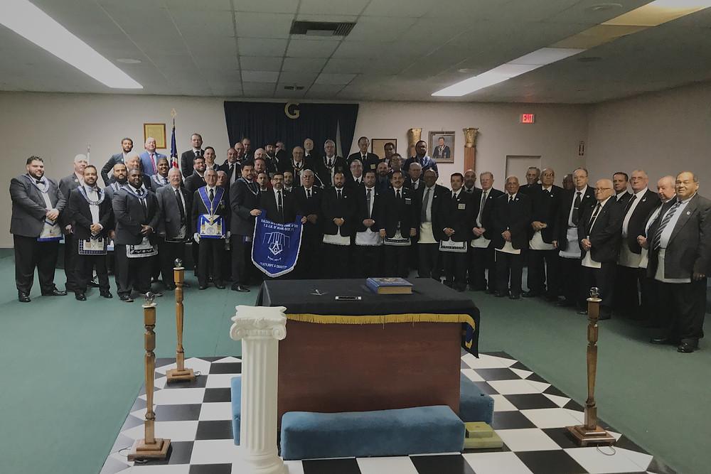 HOL 391's White Apron Ceremony 2018