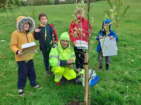 Second Newbury Cubs visit Goldwell Park Lockdown Wood