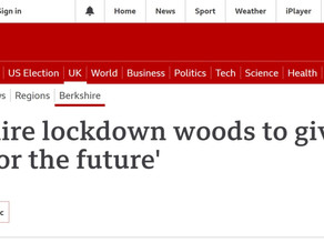 Lockdown Woods features on BBC Berkshire