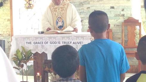 Fr. Deem's Thanksgiving Mass