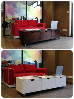Covering mobilier