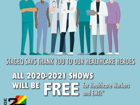 StageQ Says Thanks to Healthcare Heroes