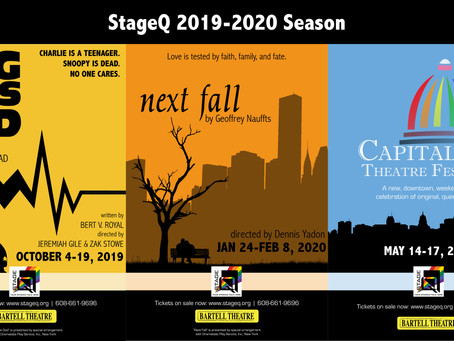 StageQ Announces 2019-2020 Season