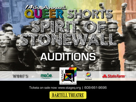 Audition Notice - Queer Shorts!