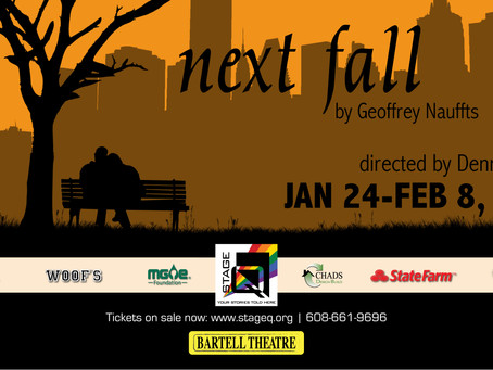 "StageQ Announces Cast for Winter Drama ""Next Fall"""
