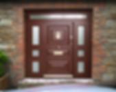 Wood Paneling Security Door