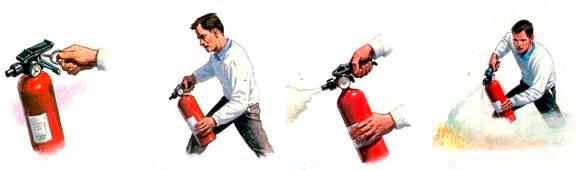 ¿Sabes cómo usar un extintor?                   Te lo explicamos en 5 simples pasos
