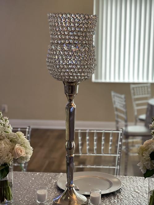 Diamond Ball Vase 3ft