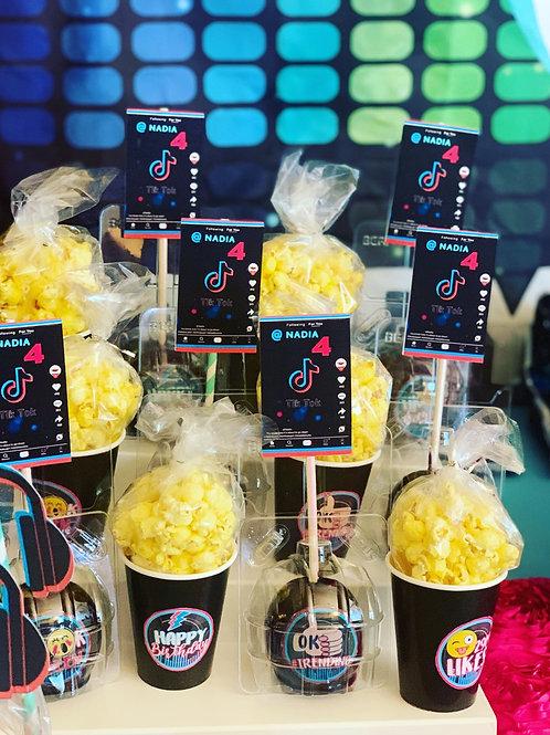 Custom popcorn