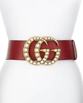 Pearled GG Belt