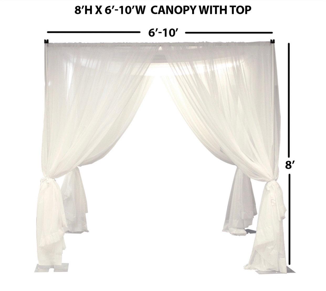 Canopy rental and Setup