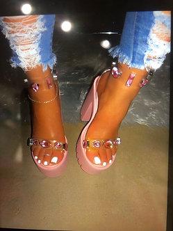 Jeweled Pink sickle