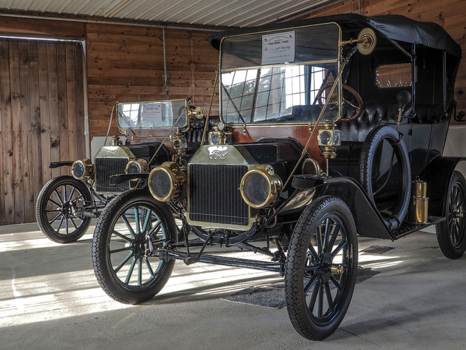 Model T Fords_Donald Bruno_Honorable Men