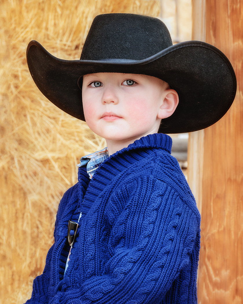 Littlest Cowboy_Carole Wiley_Honorable M