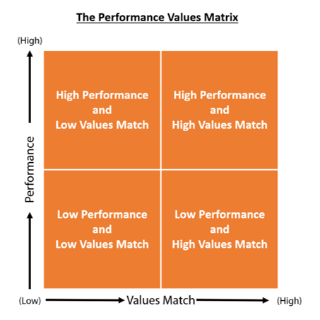 Performance Values Matrix Welch Blanchard