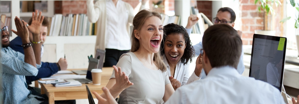 Successful engaged employees