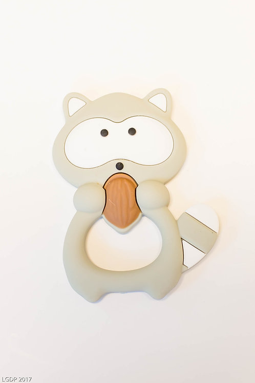 203 - Silicone Raccoon Teether