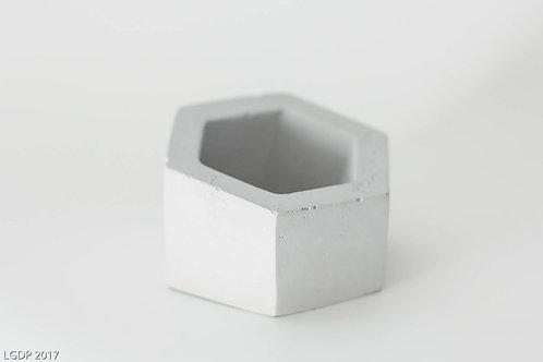 301 - Gray Hexagon Holder