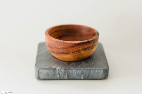 112 - Single Bowl with Marble Holder
