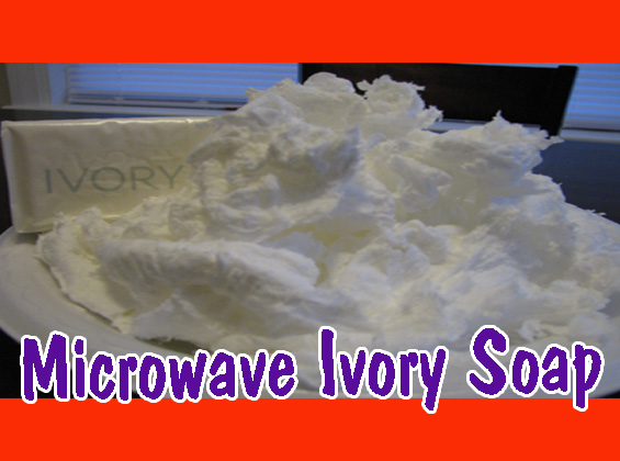 Microwave Ivory Soap