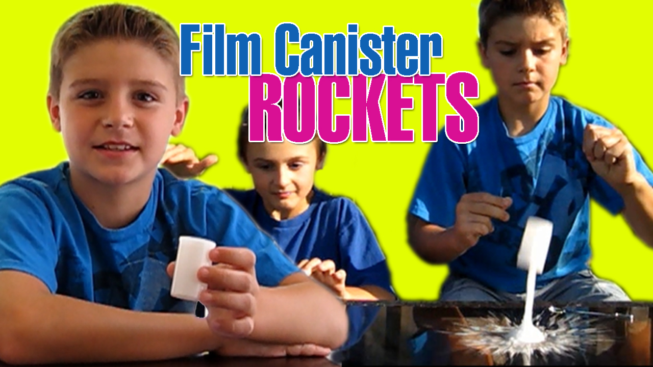 Film Canister Rocket