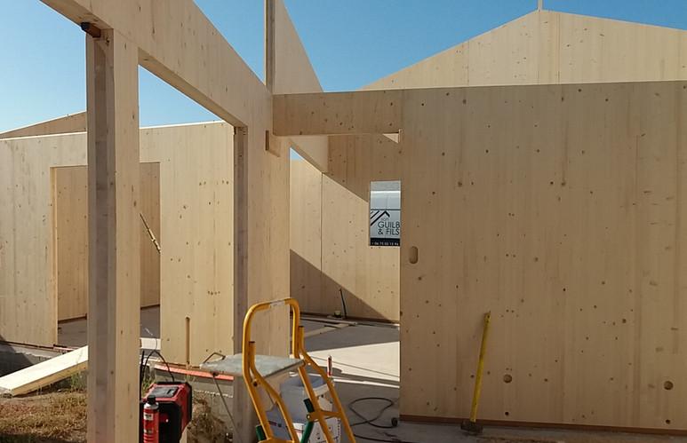 Construction Maison Bois Massif