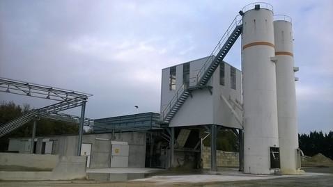 Centrale à béton Unibéton – Noyant de Touraine