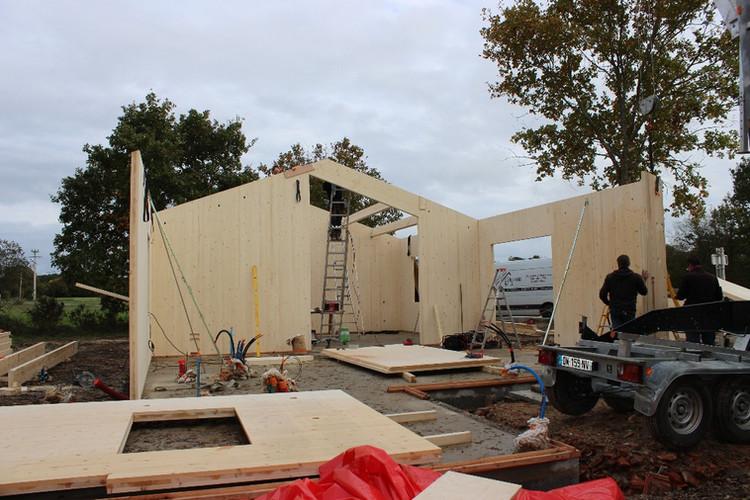 Construction bois clt