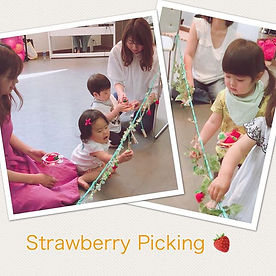 Strawberry Picking🍓__#英語リトミック#リズムに合わせて#