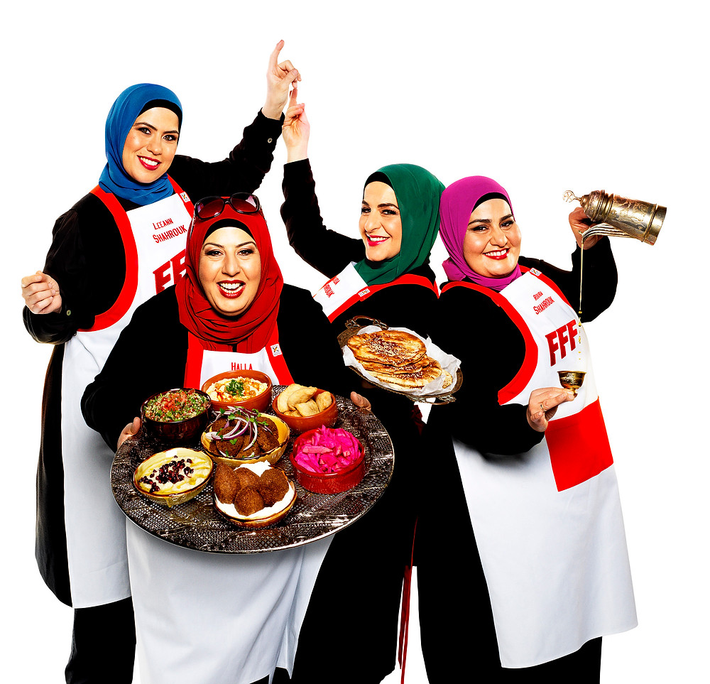 Shahrouk Family from Channel Nine's upcoming program 'Family Food Fight'