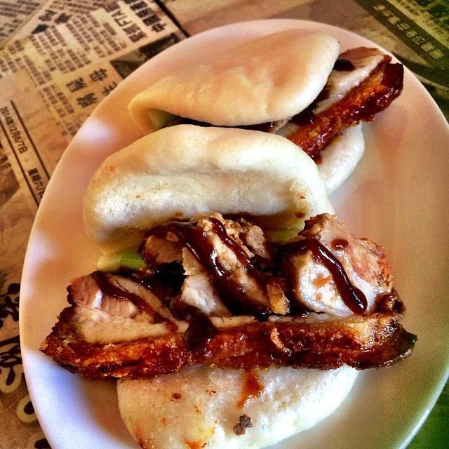 Instagram - Crackling Pork Belly Sliders 2 for $8 tasty dish @dumplingsandbeer #
