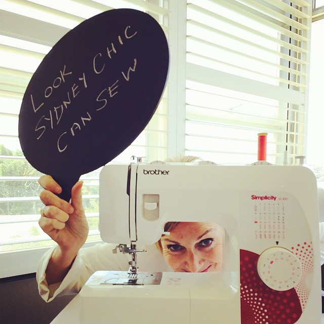 Instagram - It's the truth I actually can sew.jpg