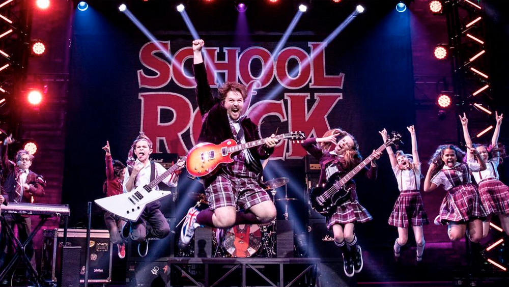 School of Rock Theatre Review