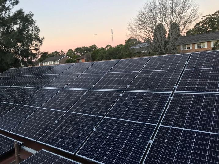Solar Panels Marsfield