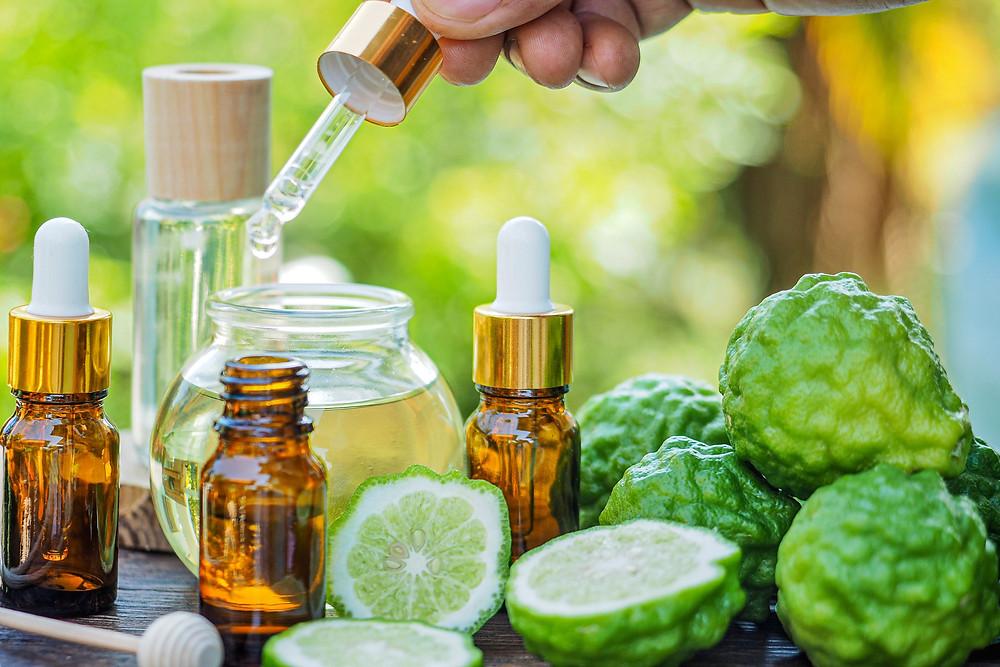 Bergamot essential oil for depression