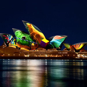 A 3D Sculpture Will Illuminate The Sails of Sydney Opera House For Vivid