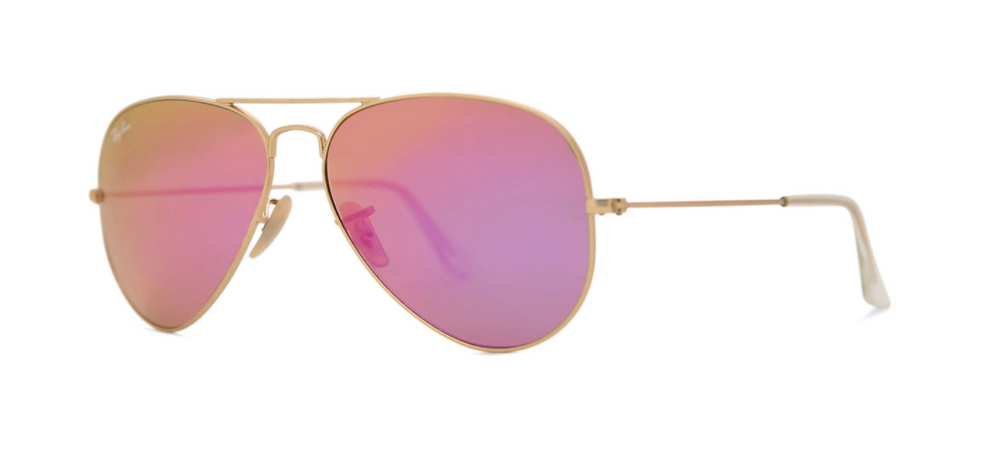 coloured aviator glasses