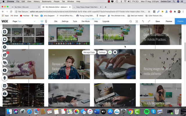 Creating Categories in the Wix Blog