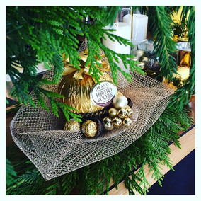 Make your own Ferrero Rocher Christmas Decorations