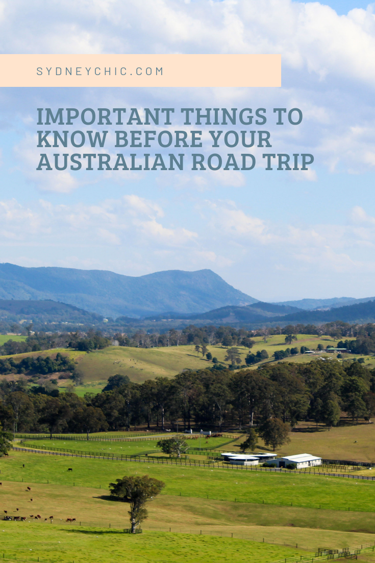 Important Things To Know Before Your Australian Road Trip