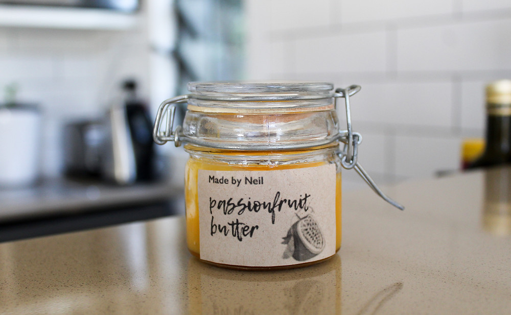 Passionfruit butter