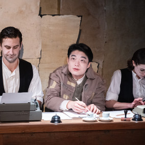 Theatre Review: The Overcoat
