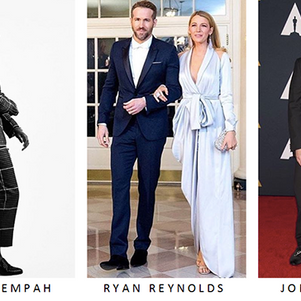 Duke & Dexter Worn by Ryan Reynolds, Jonah Hill, Justin Timberlake, Eddie Redmayne and Tinie Tem