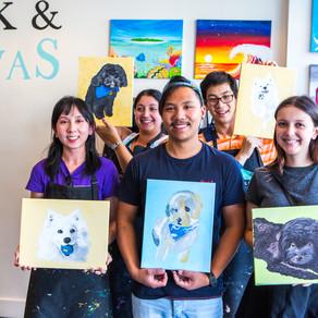 Cork & Canvas Paint Your Pet Workshops