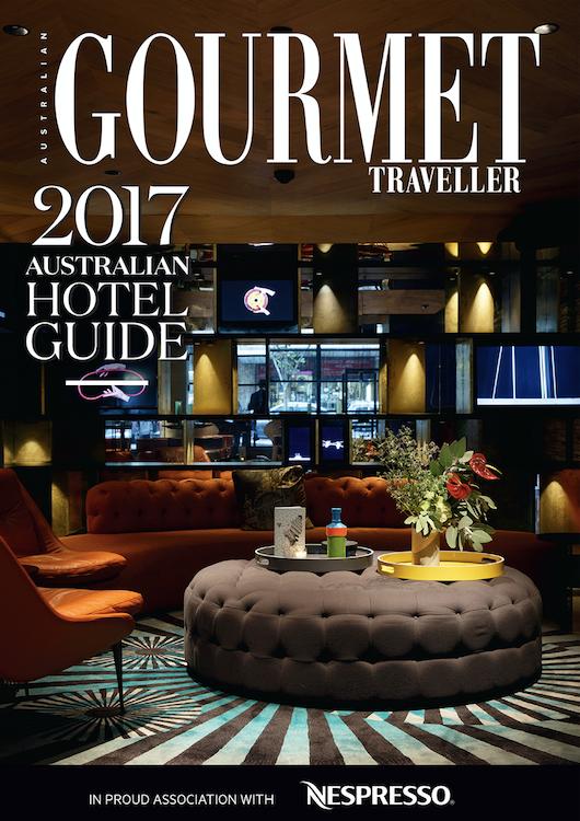 Gourmet Traveller 2017 Australian Hotel Guide