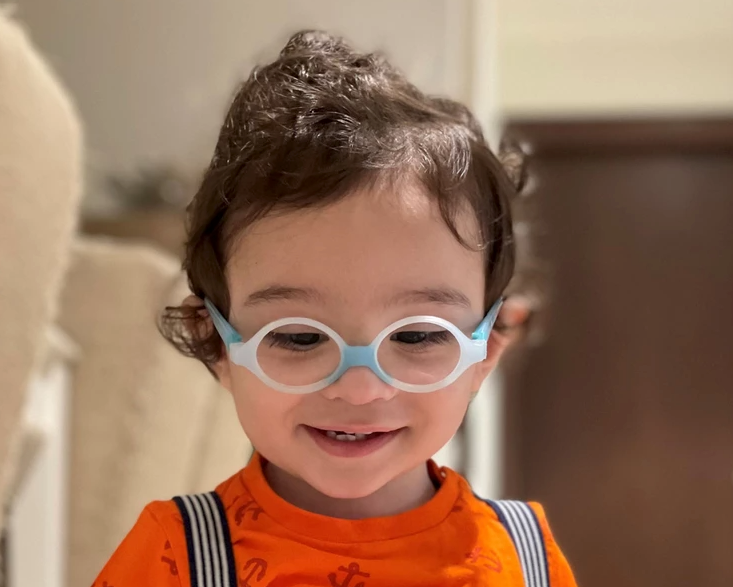 Eye surgery gives 11-month-old improved vision