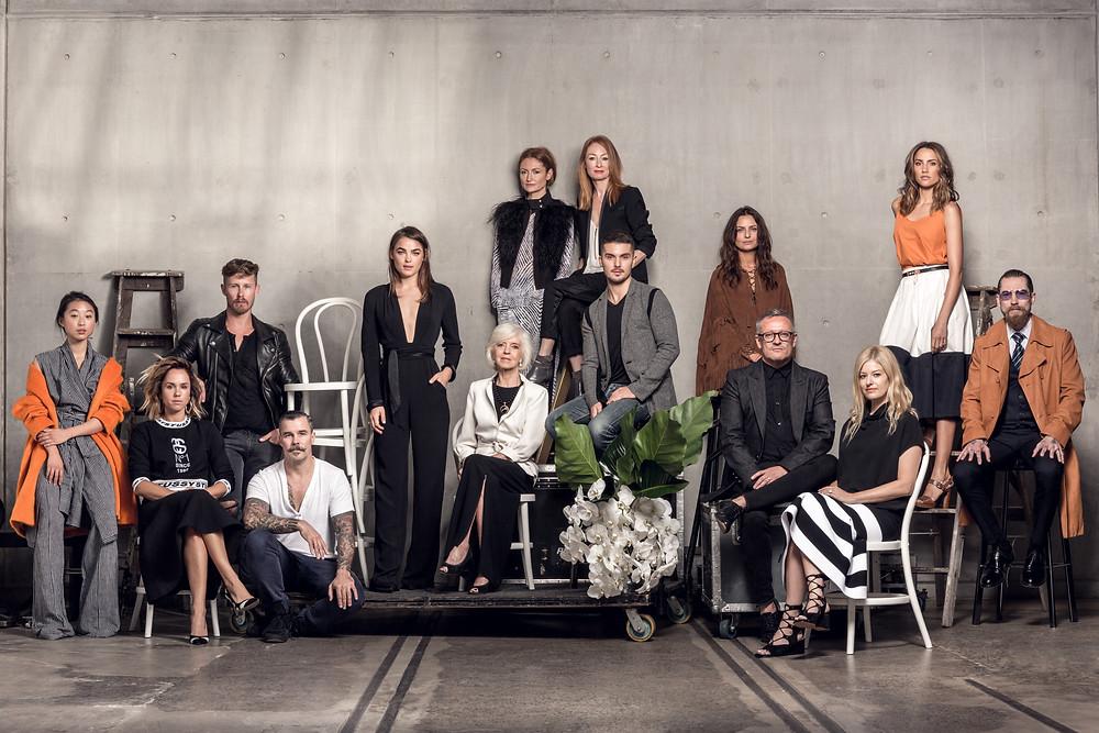 Faces of Fashion - Mercedes Benz Fashion Week Australia 2015